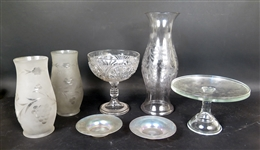 Group of Glass Articles