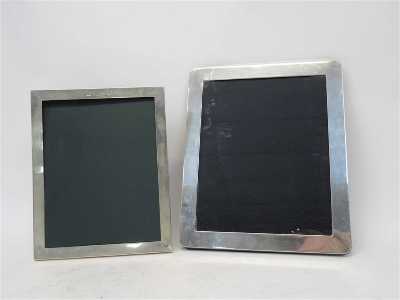 2 Sterling Silver Picture Frames
