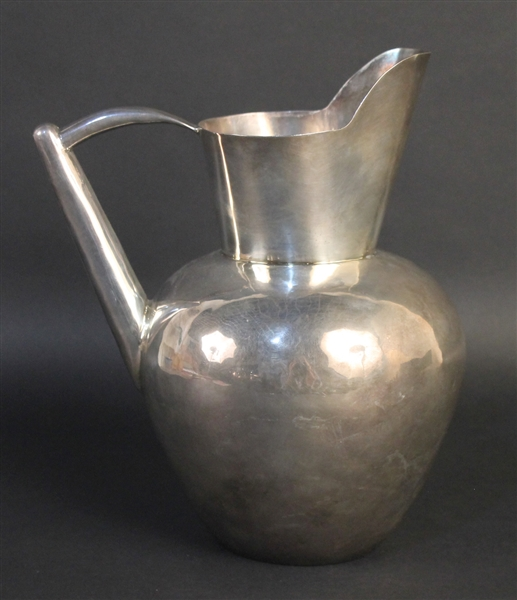 Hector Aguilar, Mexican Silver Water Pitcher