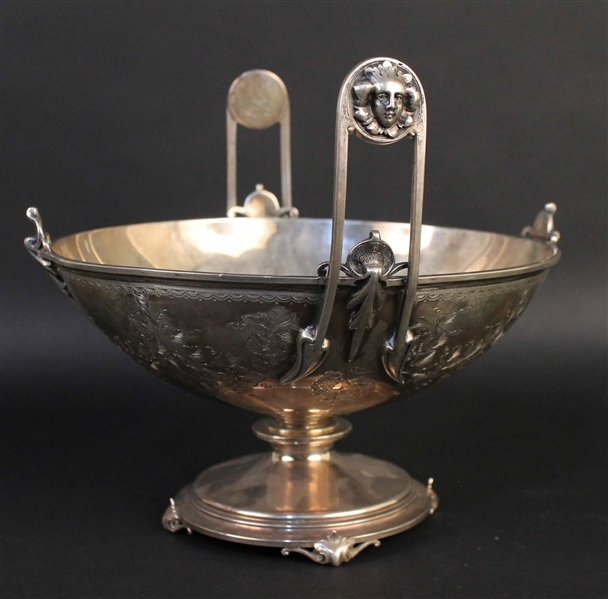 Ball, Black & Co. Silver Centerpiece Bowl