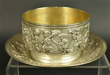 Tiffany & Co Sterling Silver Childs Bowl & Plate