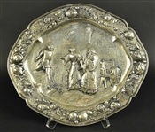 Continental Silver Sideboard Dish