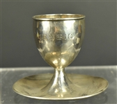 Lebolt American Silver Egg Cup