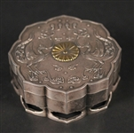 Japanese Silver Confection Box