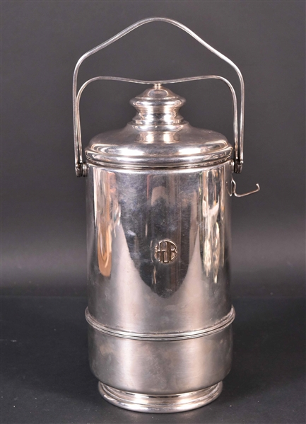 Cartier Sterling Silver Ice Bucket