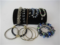 Group of Assorted Ladies Costume Bracelets