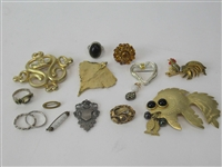 Group of Assorted Ladies Brooches