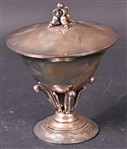 George Jensen Sterling Covered Footed Compote