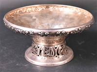 Norwegian Thune Sterling Pierced and Footed Tazza