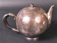 George Jensen Sterling Mid Century Teapot