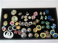 Group of Assorted Costume Earrings