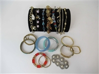 Group of Assorted Costume Bracelets