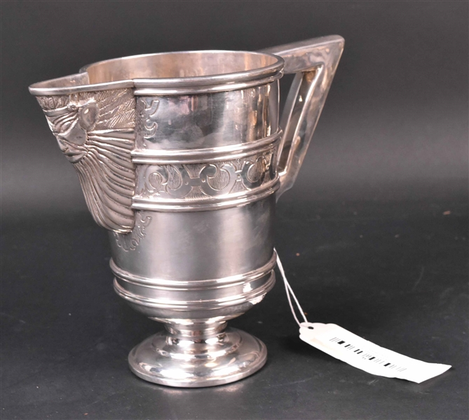 Silver with Unidentified Marks Pitcher