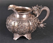 Chinese Export Silver Cream Jug
