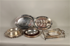 Silver Plated Trays and Hostess Essentials