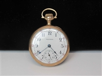 Waltham Gold Plated Pocket watch
