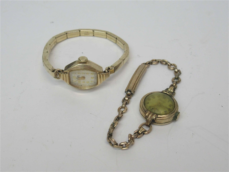 Two Croton Ladies Wrist Watch