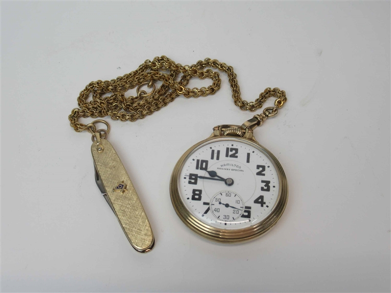 Hamilton 992 Railway Special Pocket Watch