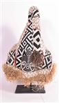 African Beaded Ceremonial Hat