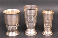 Heimburger Denmark Silver Footed Vase