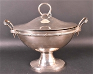 Gorham Sterling Double Handled Soup Tureen