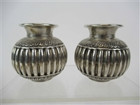 Pair of Silver Vessels