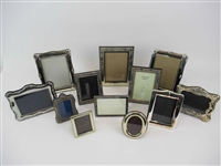 Group of Assorted Silver Plated Picture Frames