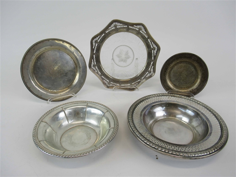 Group of Assorted Sterling Silver Bowls