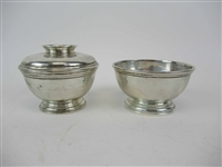 Two Ensko NY Graduated Sterling Silver Bowls