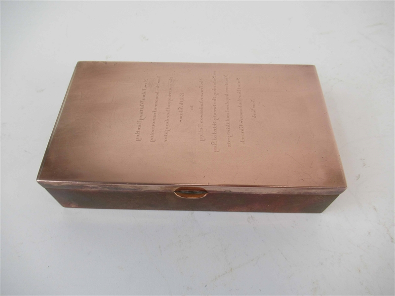 Vintage Cartier Copper Box
