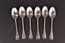 Six American Hanoverian DeParisien Tablespoons