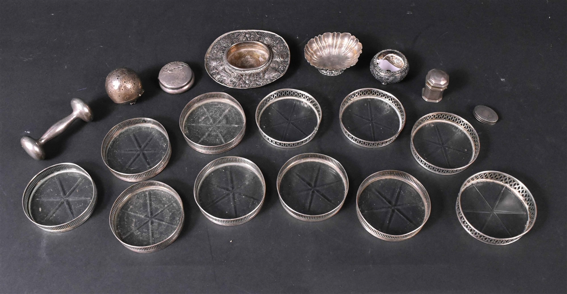 Group of Sterling Silver Small Items