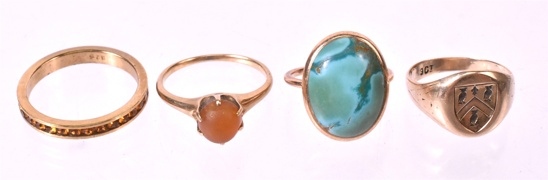 Three Victorian Gold Rings