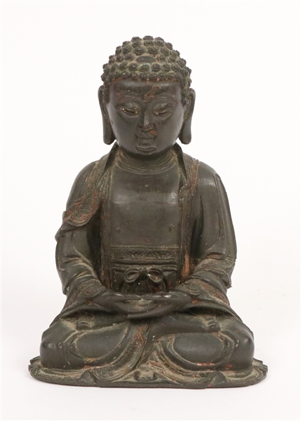 Bronze Seated Buddha