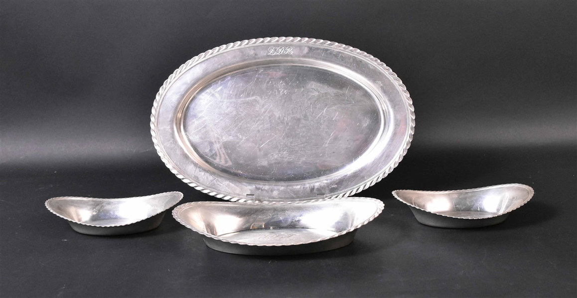 Set International Sterling Silver Serving Pieces