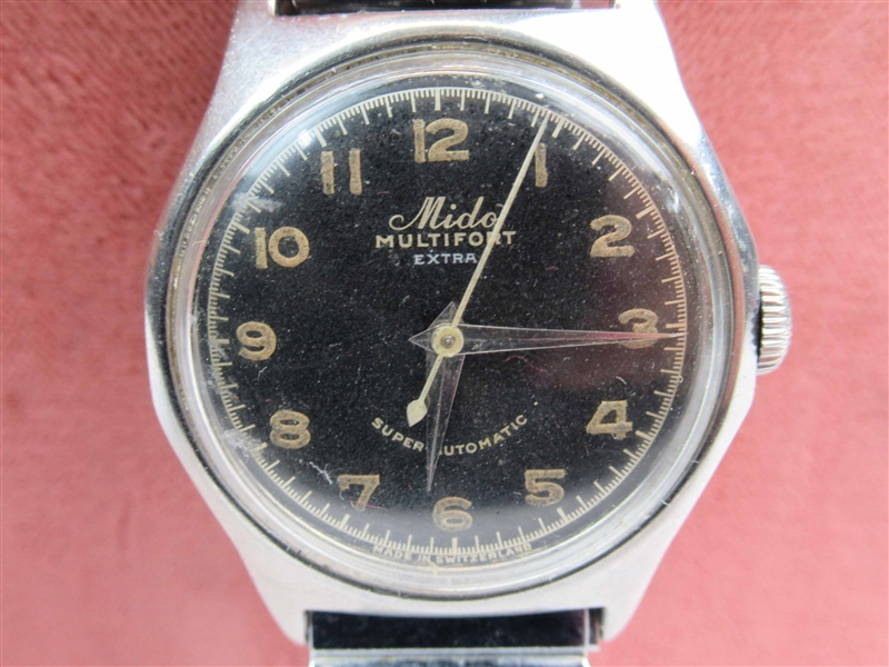 Vintage Mido Multifort Extra Swiss Manual Watch