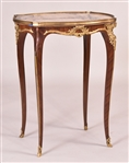 Louis XVI-Style Gilt-Bronze Marble Top Table