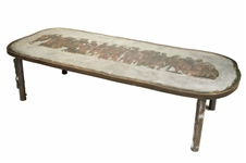 "Philip and Kelvin Laverne ""Romanesque"" Low Table"