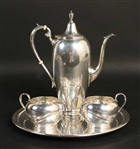 Gorham Sterling Silver 3 Piece Coffee Service