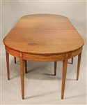 Federal Eagle Inlaid Mahogany Dining Table