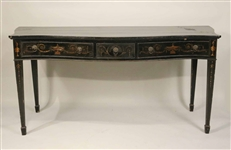 George III Style Paint-Decorated Sideboard