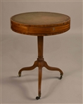 Regency Satinwood Drum Table