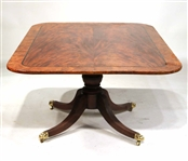 Regency Inlaid Mahogany Tilt-Top Breakfast Table