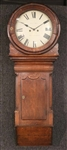 George III Oak Wall Clock, William Hay