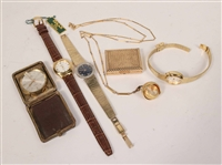 Group of Timepieces