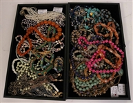 Large Collection of Costume Necklaces