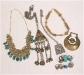 Group of Egyptian Inspired Costume Jewelry