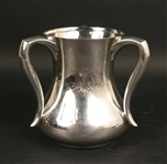 Tiffany Sterling Silver Three Handled Loving Cup