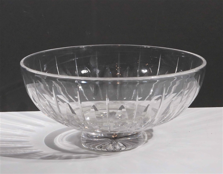 Stuart Glass Footed Bowl