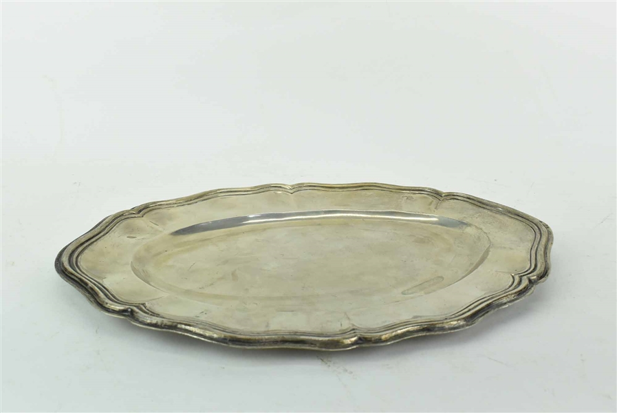 Continental 800 Silver Oval Serving Tray
